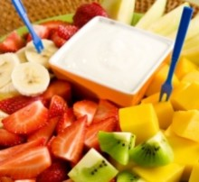 Fresh Fruit with Dip