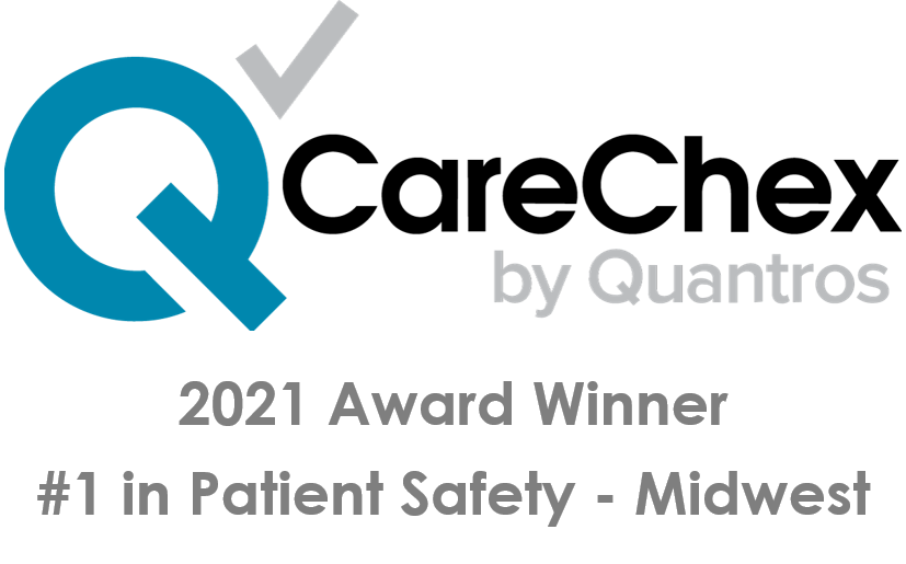 CareChex Bariatric Surgery Patient Safety Award for 2021