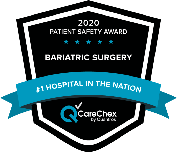 2020 CareChex Bariatric Surgery Patient Safety Award